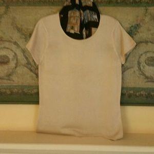 NWT Talbot's Short-sleeve Sweater Top, Sz M